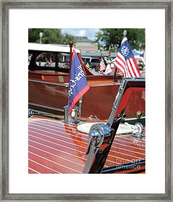 Chris Craft Runabout Framed Print