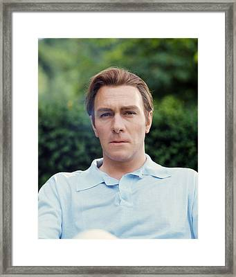 Christopher Plummer Framed Print by Silver Screen