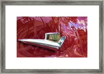 Classic Car Art Framed Print