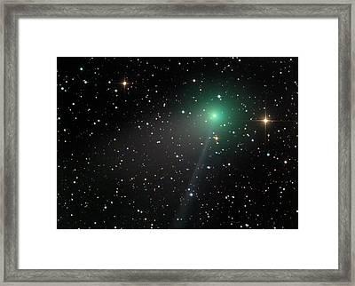 Comet C2012 F6 Framed Print