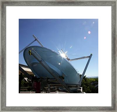 Concentrated Solar Power Framed Print
