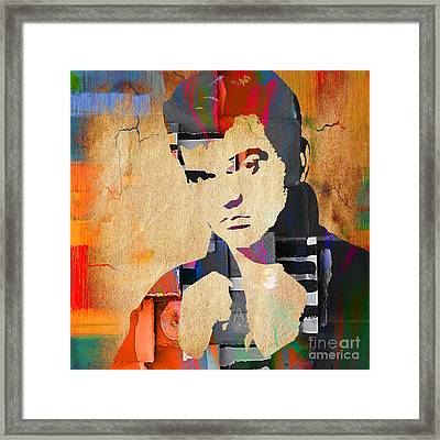 Conway Twitty Collection Framed Print by Marvin Blaine