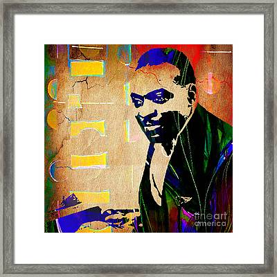 Count Basie Collection Framed Print