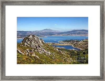 Countryside Landscape Framed Print