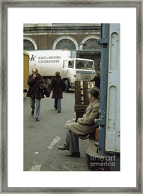 Covent Garden Market 1973 Framed Print by David Davies
