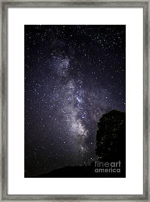 Dark Rift Of The Milky Way Framed Print