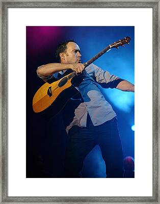Dave Matthews Framed Print by Don Olea
