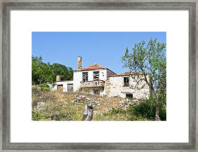 Derelict House Framed Print by Tom Gowanlock