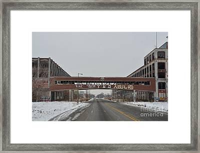 Detroit Packard Plant Framed Print by Randy J Heath