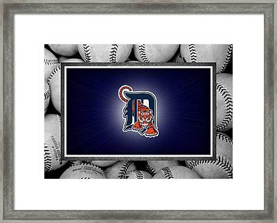 Detroit Tigers Framed Print by Joe Hamilton