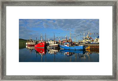 Dingle Boats Framed Print