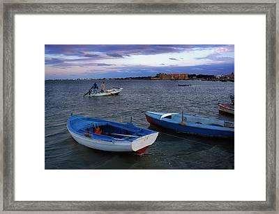 Djerba Framed Print by Lucas Vallecillos - Vwpics