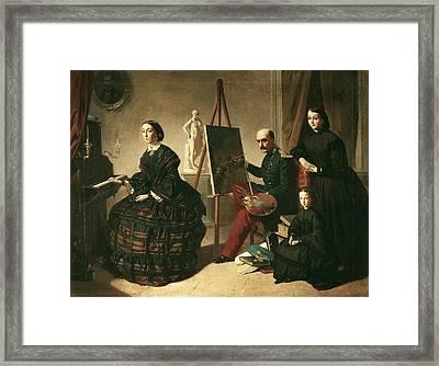 Dominguez Becquer, Valeriano 1834-1870 Framed Print by Everett
