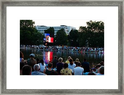 Don Giovanni Public Viewing Framed Print