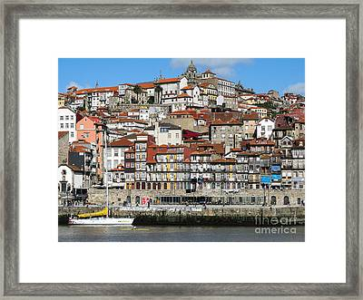 Framed Print featuring the photograph Douro River by Arlene Carmel