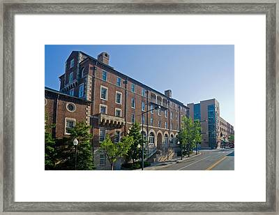 Downtown Knoxville Framed Print by Melinda Fawver
