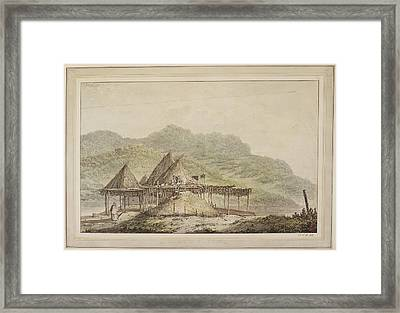 Drawings Made In The South Seas Framed Print