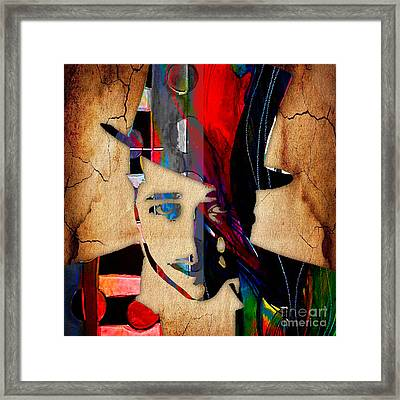 Duke Ellington Collection Framed Print by Marvin Blaine