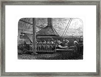 Dyeing Industry Framed Print