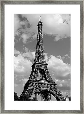 Eiffel Tower Framed Print by Ivete Basso Photography