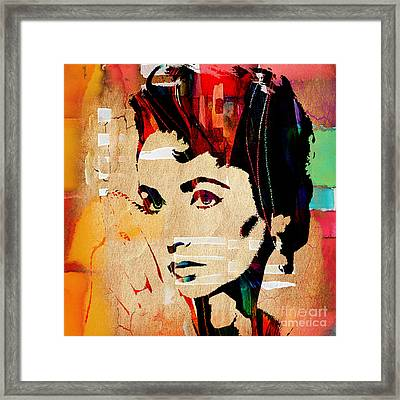 Elizabeth Taylor Collection Framed Print by Marvin Blaine