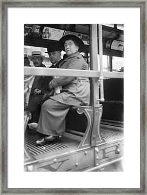 Emma Goldman (1869-1940) Framed Print