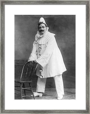 Enrico Caruso (1873-1921) Framed Print by Granger