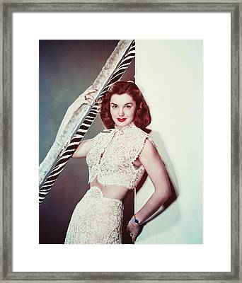 Esther Williams Framed Print by Silver Screen