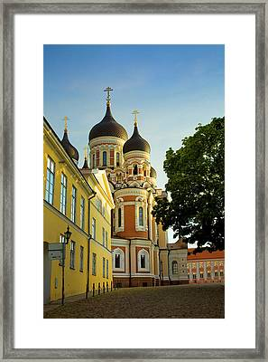 Estonia, Tallinn Framed Print by Jaynes Gallery