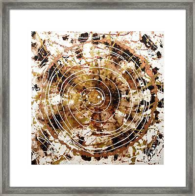 Eternal Circle Framed Print by Baljit Chadha