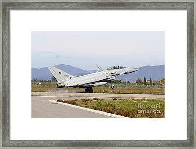 Eurofighter Ef2000 Typhoon Framed Print by Riccardo Niccoli