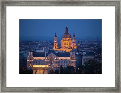 Europe, Hungary, Budapest Framed Print