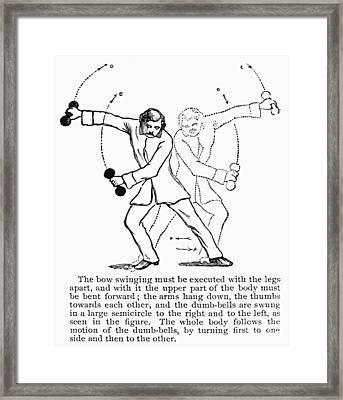 Exercise, 19th Century Framed Print by Granger