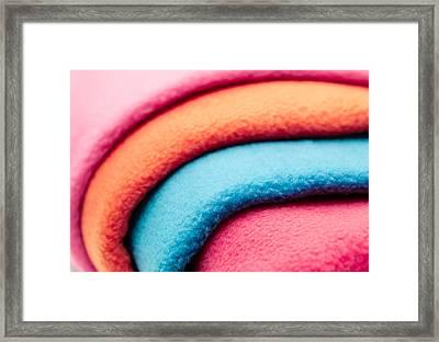 Fleece Framed Print by Tom Gowanlock