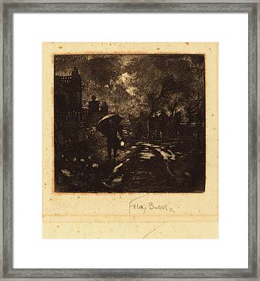 Félix-hilaire Buhot French, 1847 - 1898 Framed Print