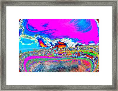 Framed Print featuring the photograph For Instance by Nick David