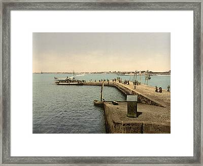 France Lorient, C1895 Framed Print by Granger