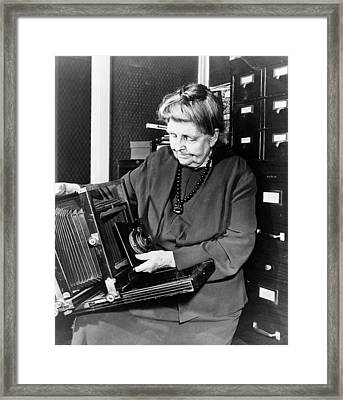 Frances Benjamin Johnston (1864-1952) Framed Print