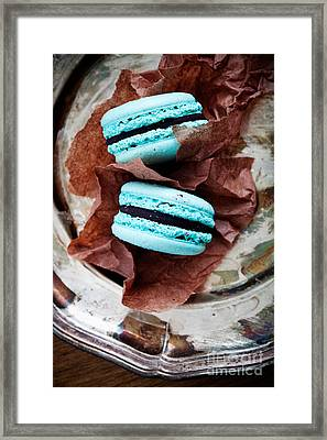 French Macaroons Framed Print by Kati Molin