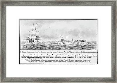 French Squadron, 1778 Framed Print by Granger
