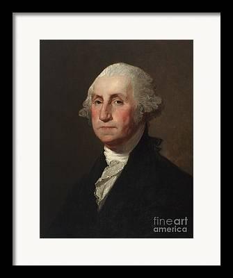 Gilbert Stuart Framed Prints