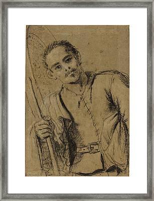 Giovanni Francesco Barbieri, Called Guercino Italian Framed Print by Quint Lox