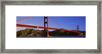 Golden Gate Bridge, San Francisco Framed Print by Panoramic Images