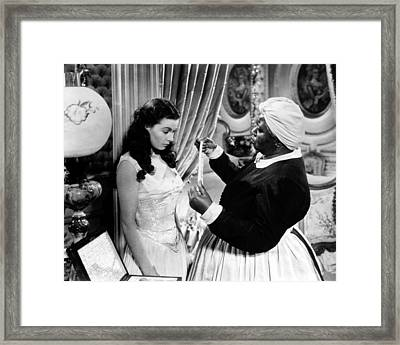 Gone With The Wind  Framed Print by Silver Screen