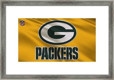 Green Bay Packers Uniform Framed Print
