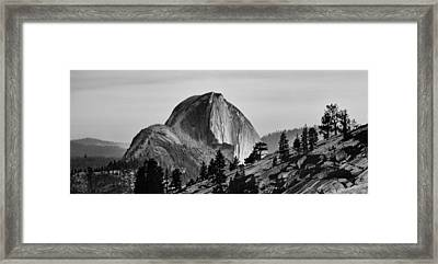 Half Dome Framed Print by Cat Connor