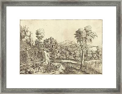 Hans Sebald Lautensack German, 1524 - 1561-1566 Framed Print by Quint Lox