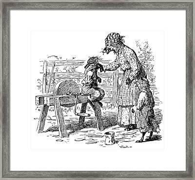 Harris Uncle Remus, 1895 Framed Print