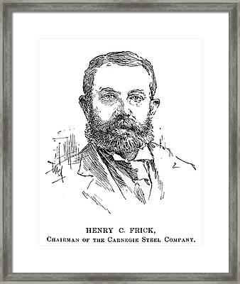 Henry Clay Frick (1849-1919) Framed Print