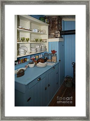 Heritage Cottage Museum On Bowen Island Framed Print